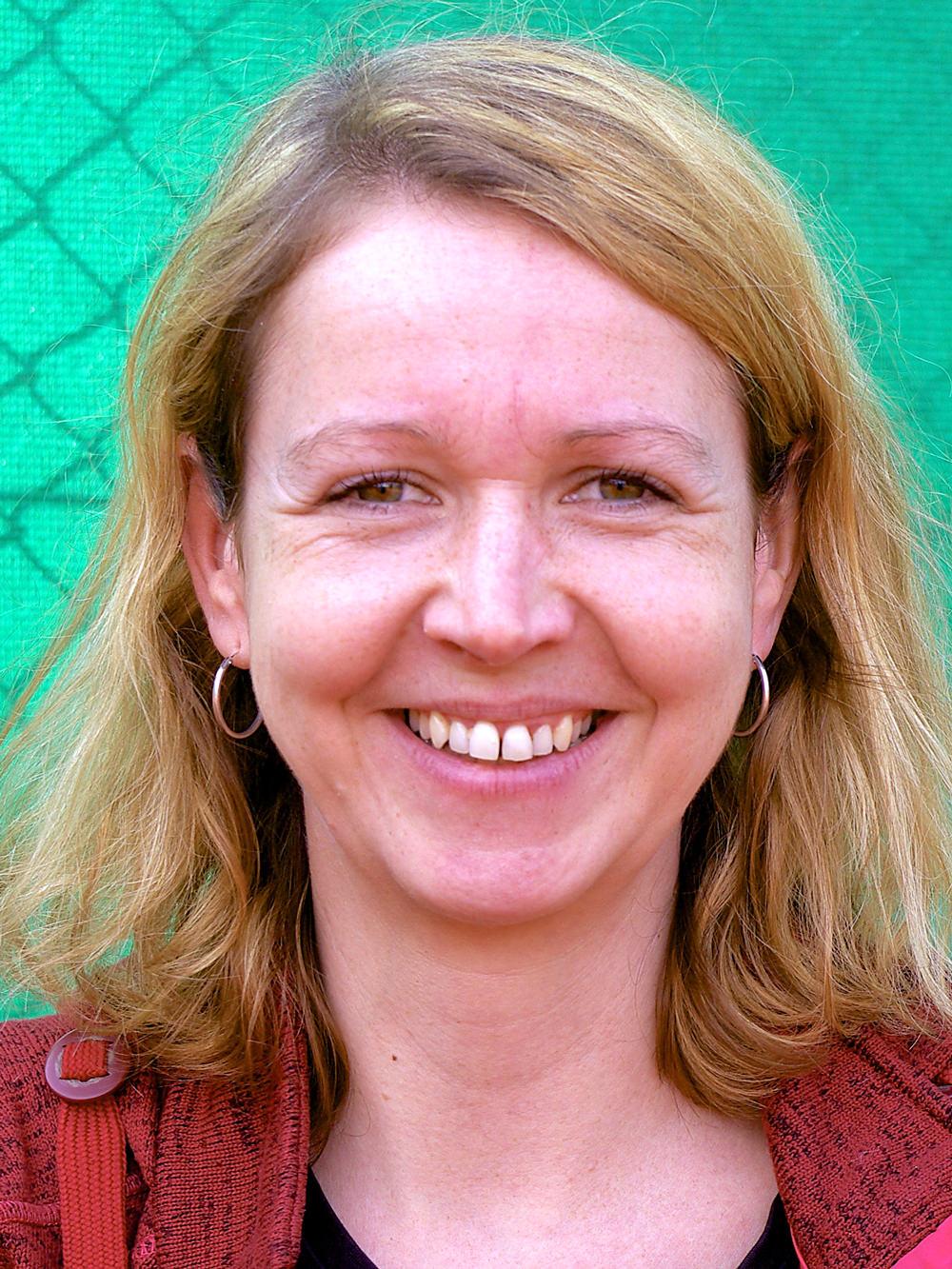 Schriftführerin Gina Naegeli