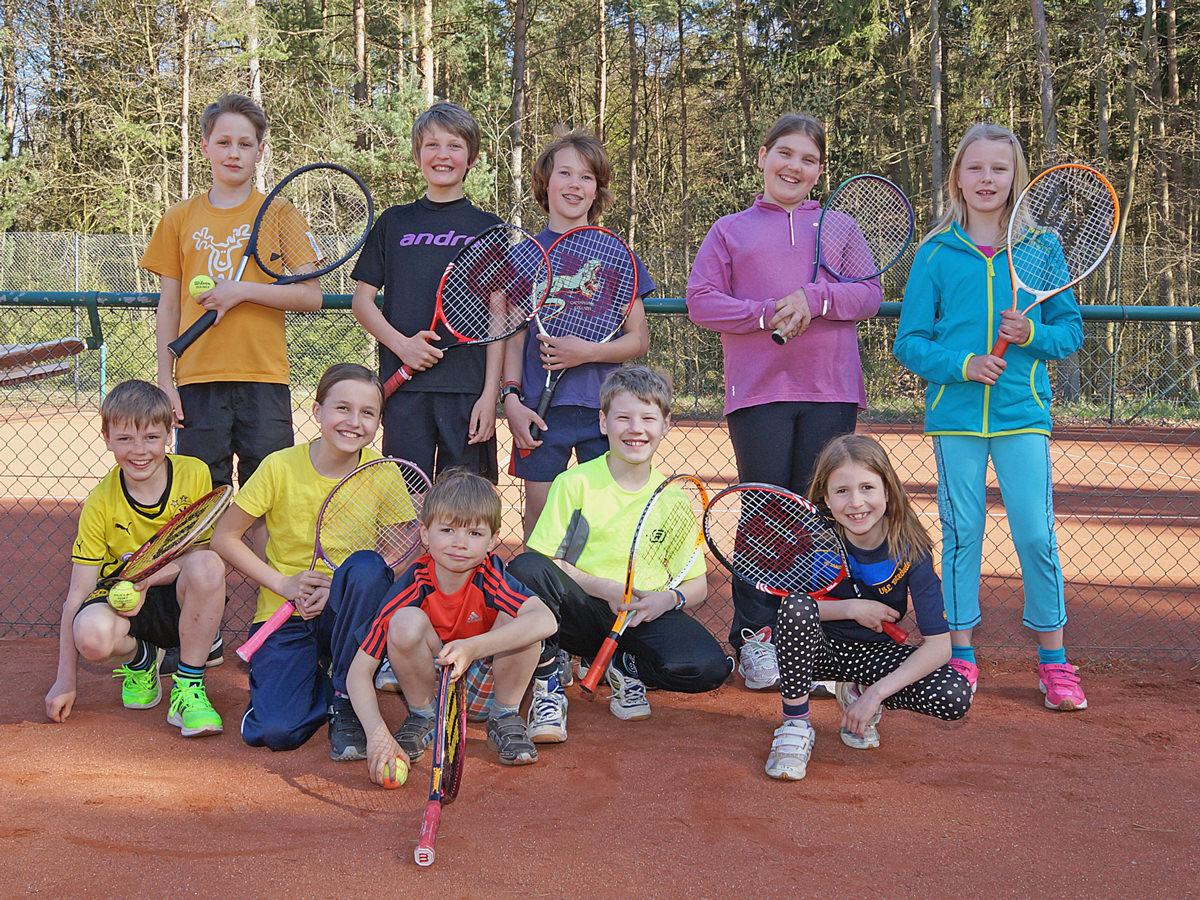 Tennis Training für Kinder und Jugendliche im Tennisclub Alt Garge