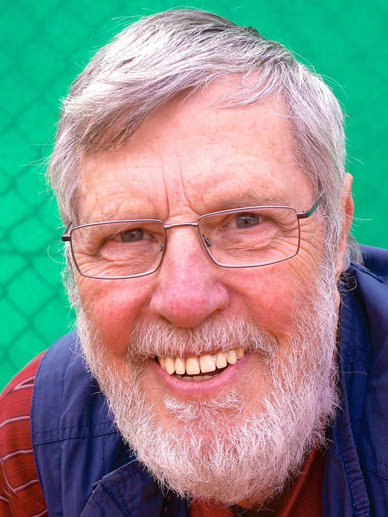 Platzwart Rolf Huenges