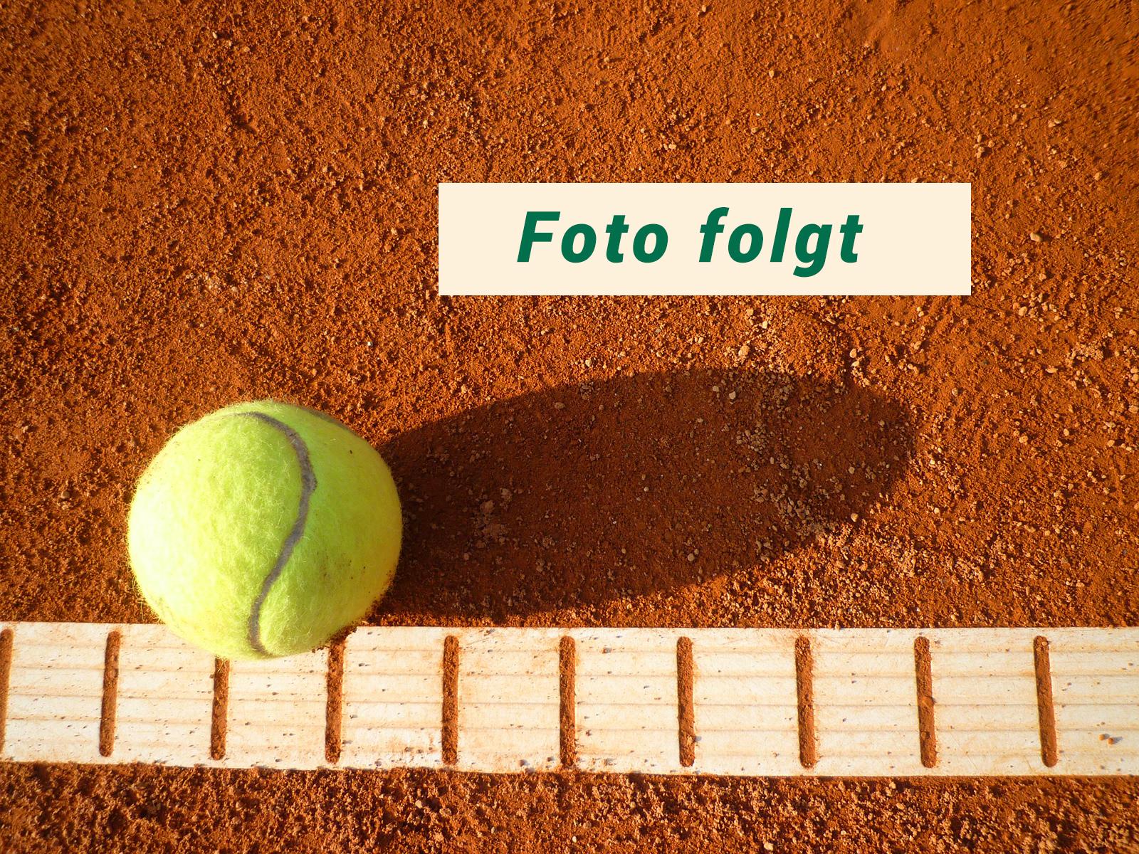 Platzhalter für Mannschaften im Tennisclub Alt Garge