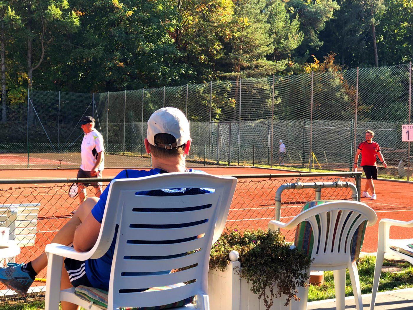 Tennis Club Alt Garge neuer Ascheplatz