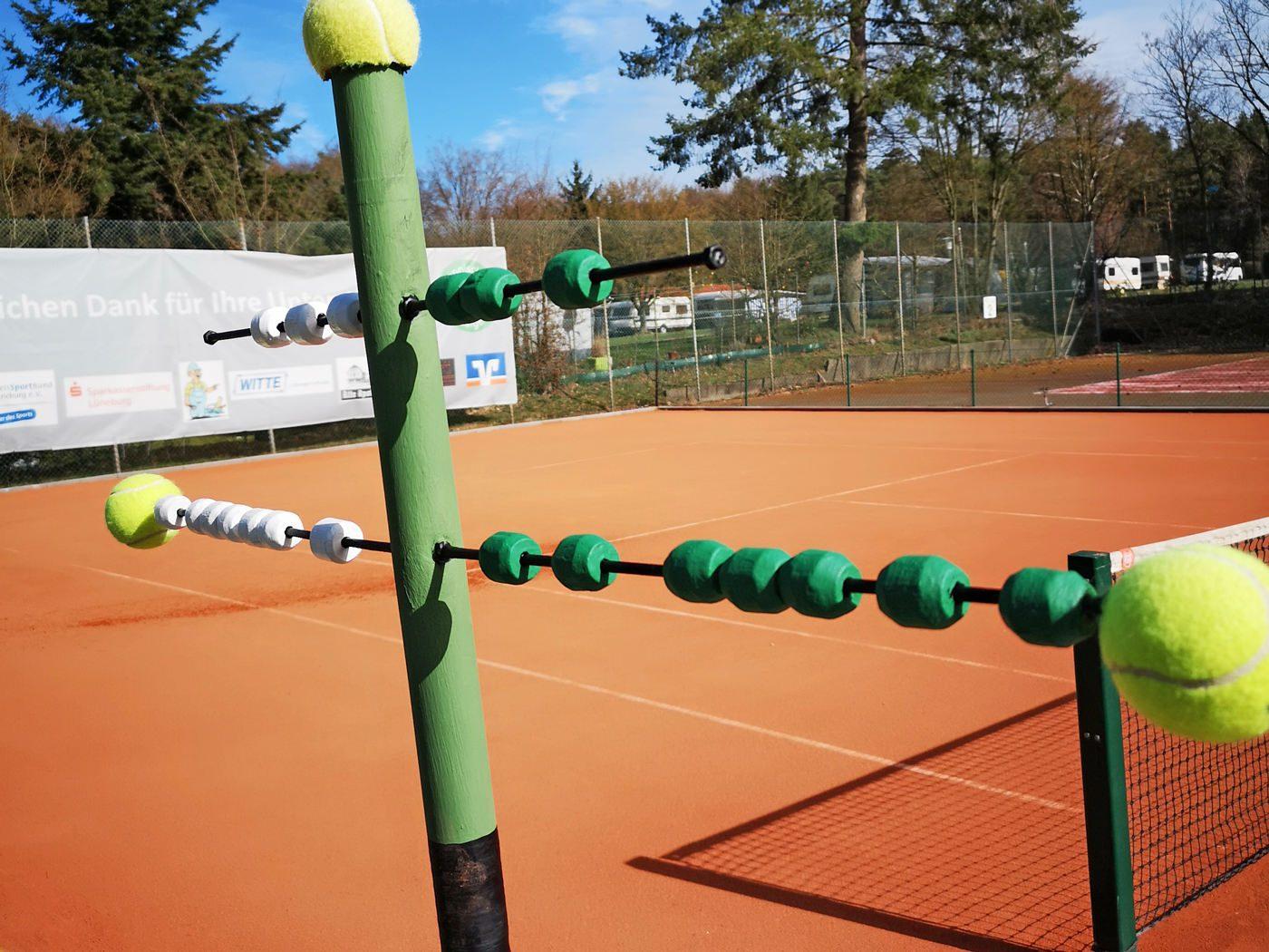 Neuer Tennis Platz in Alt Garge